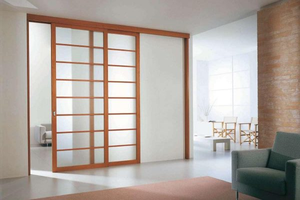 Installation de portes int rieures dans la sarthe 72 - Porte interieure coulissante ...