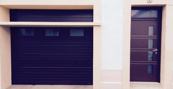Pose de votre porte de garage au mans dans toute la sarthe for Qu est ce qu une porte de garage sectionnelle